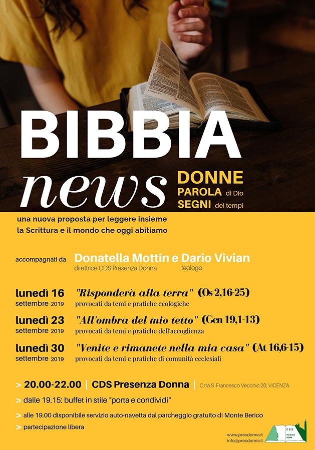 bibbia news 2019