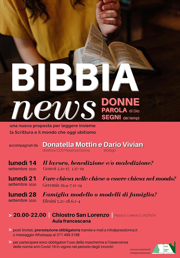 bibbia news 2020